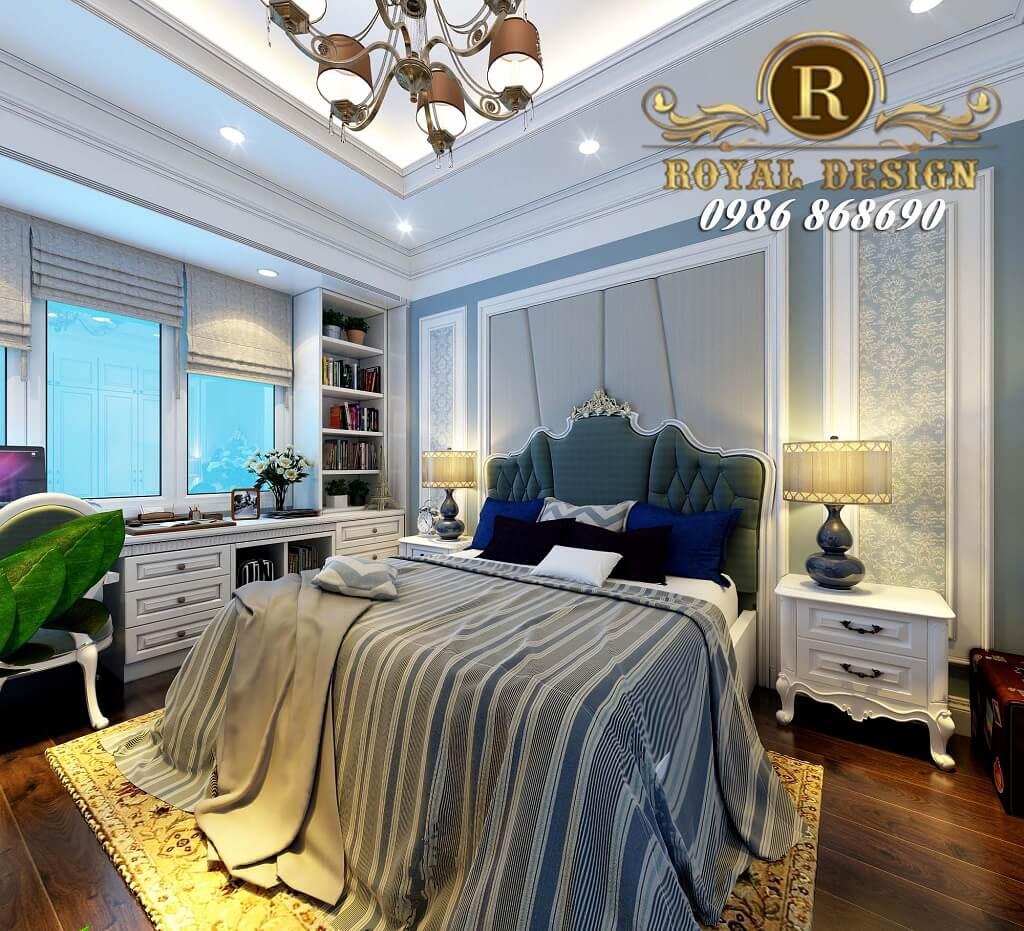 Thiết kế phòng ngủ bé trai tân cổ điển