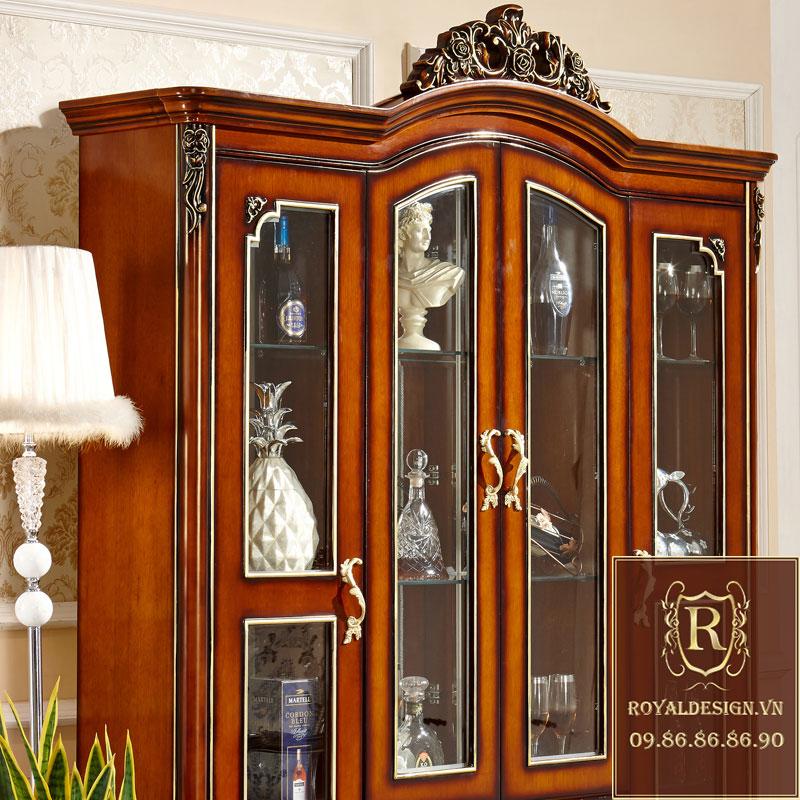 Tủ rượu Tân Cổ Điển 001-3