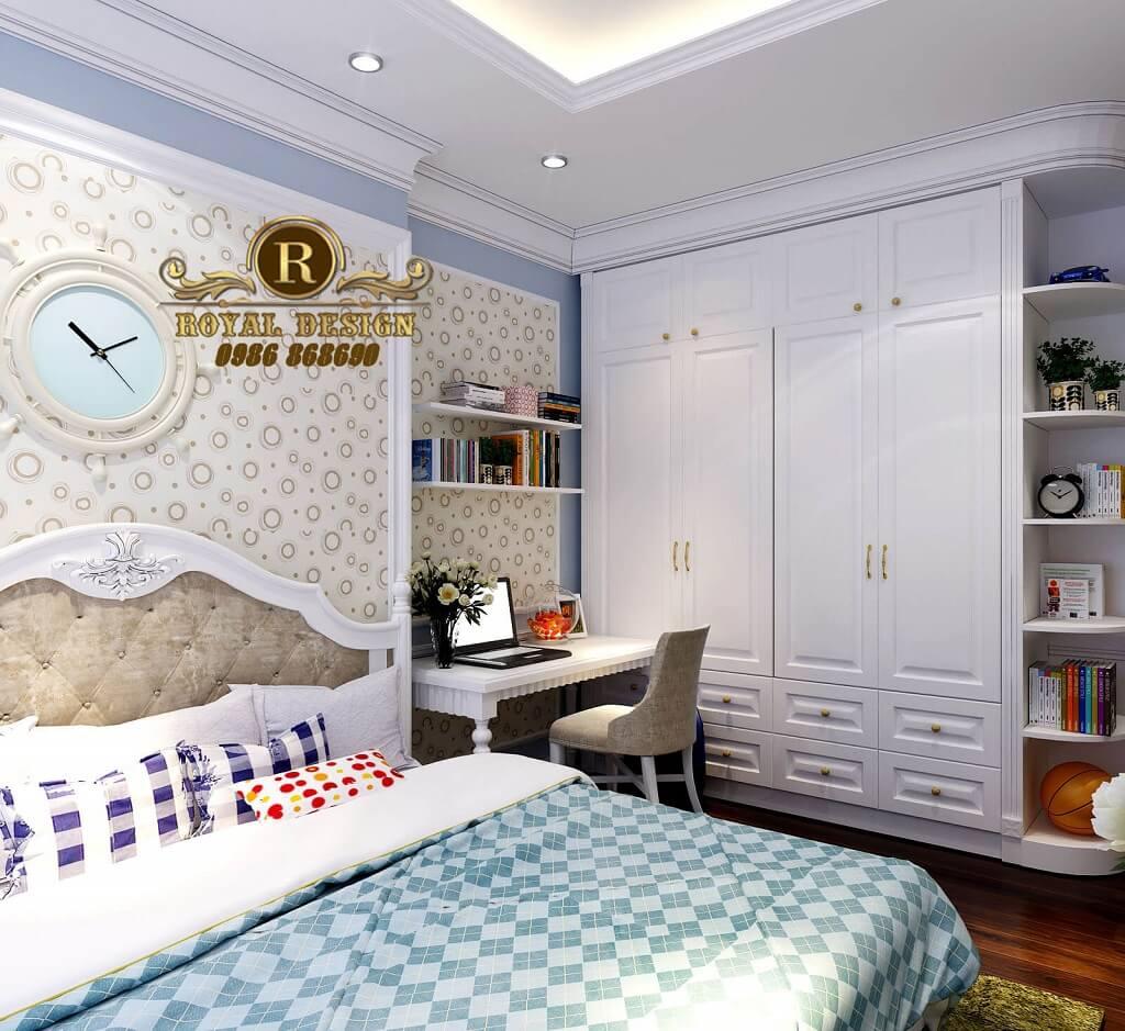 Mẫu Phòng ngủ bé trai