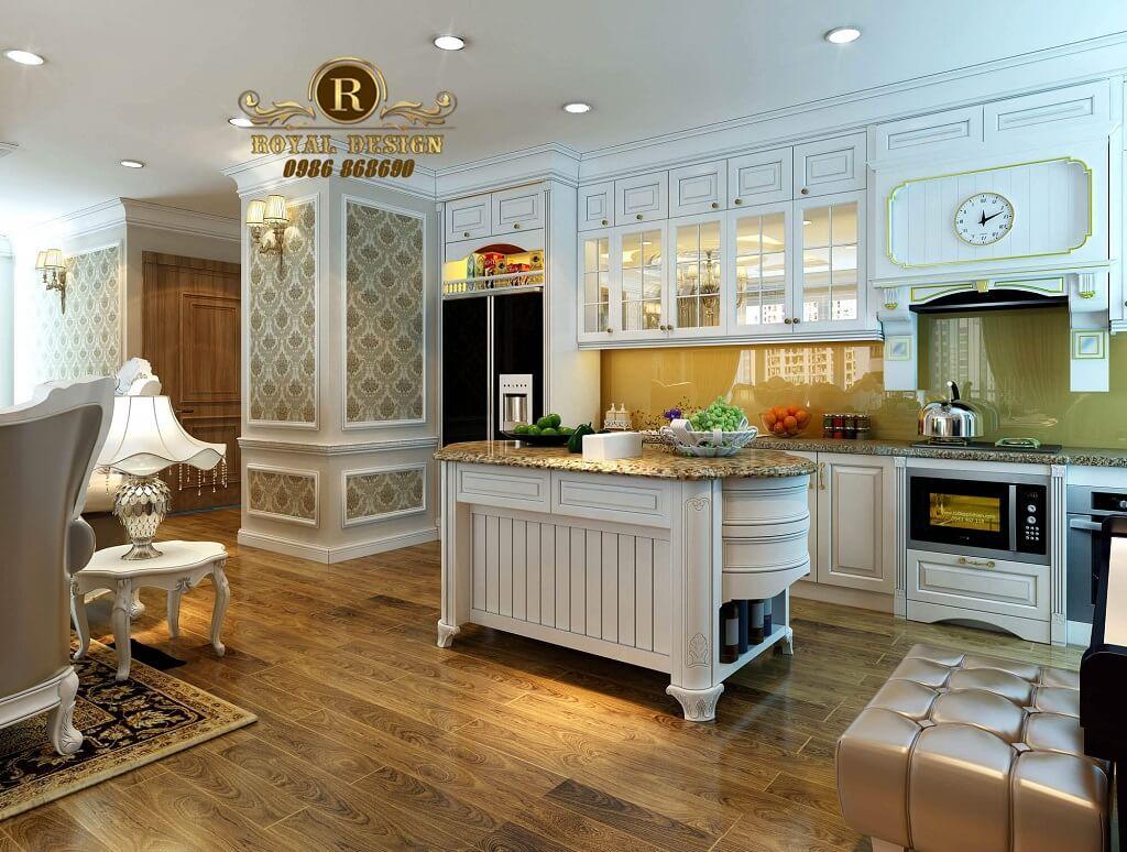Phòng bếp tân cổ điển
