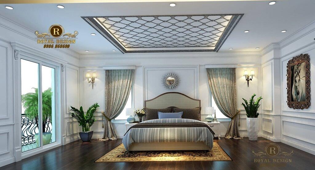 Thiết kế nội thất phòng ngủ cho con gái.