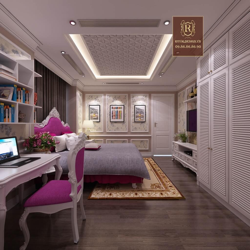 view nội thất phòng ngủ