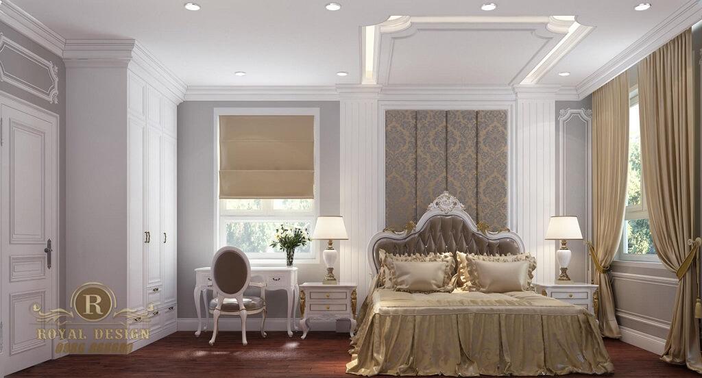 Phòng ngủ khách cổ điển