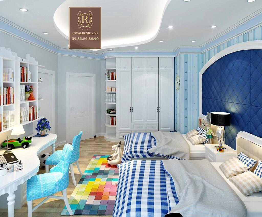 Trang trí phòng ngủ cho con trai