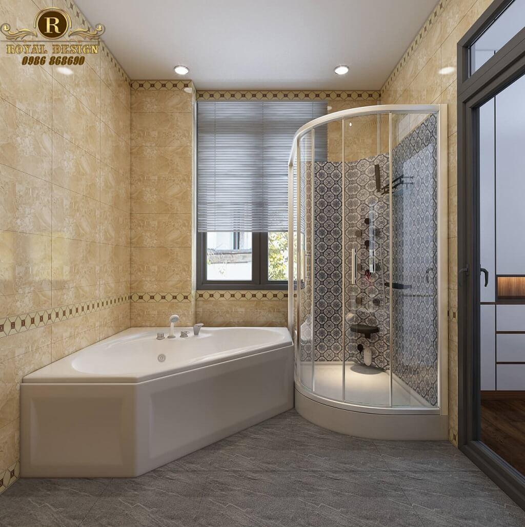 Phòng WC master hiện đại