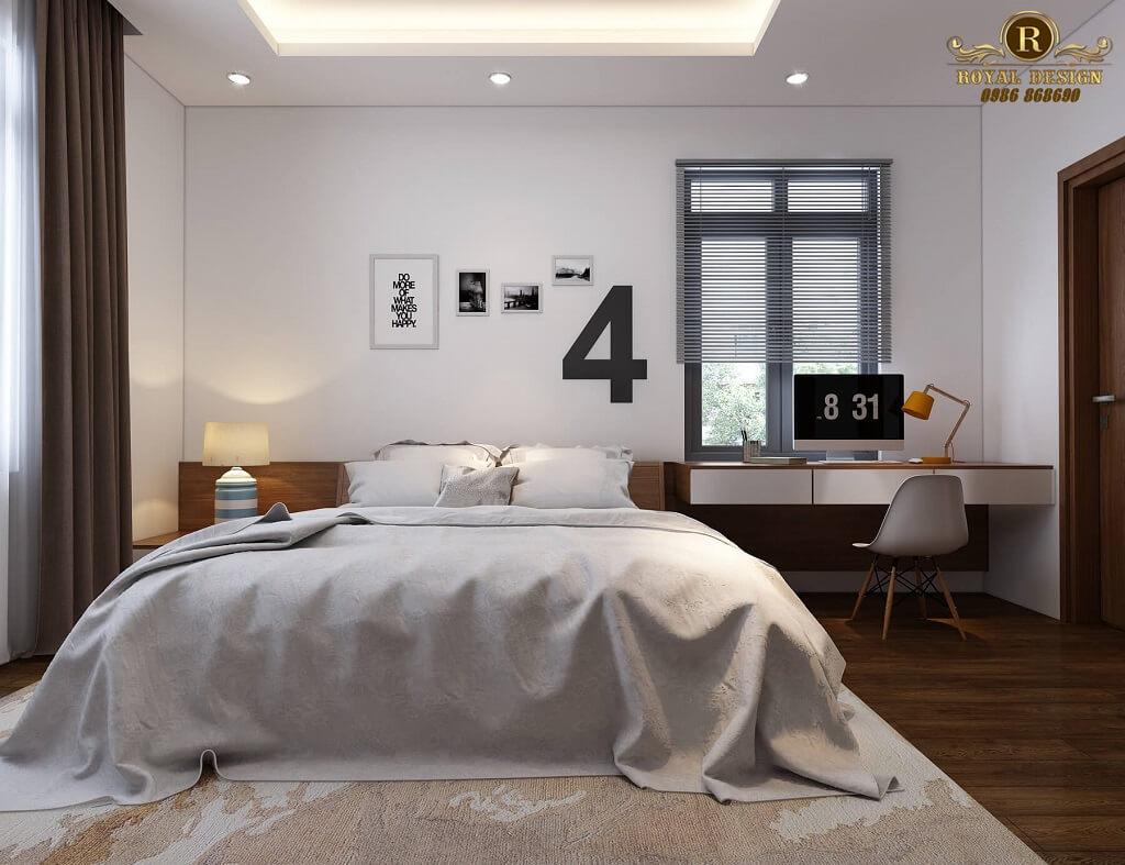 Mẫu phòng ngủ con hiện đại tinh tế