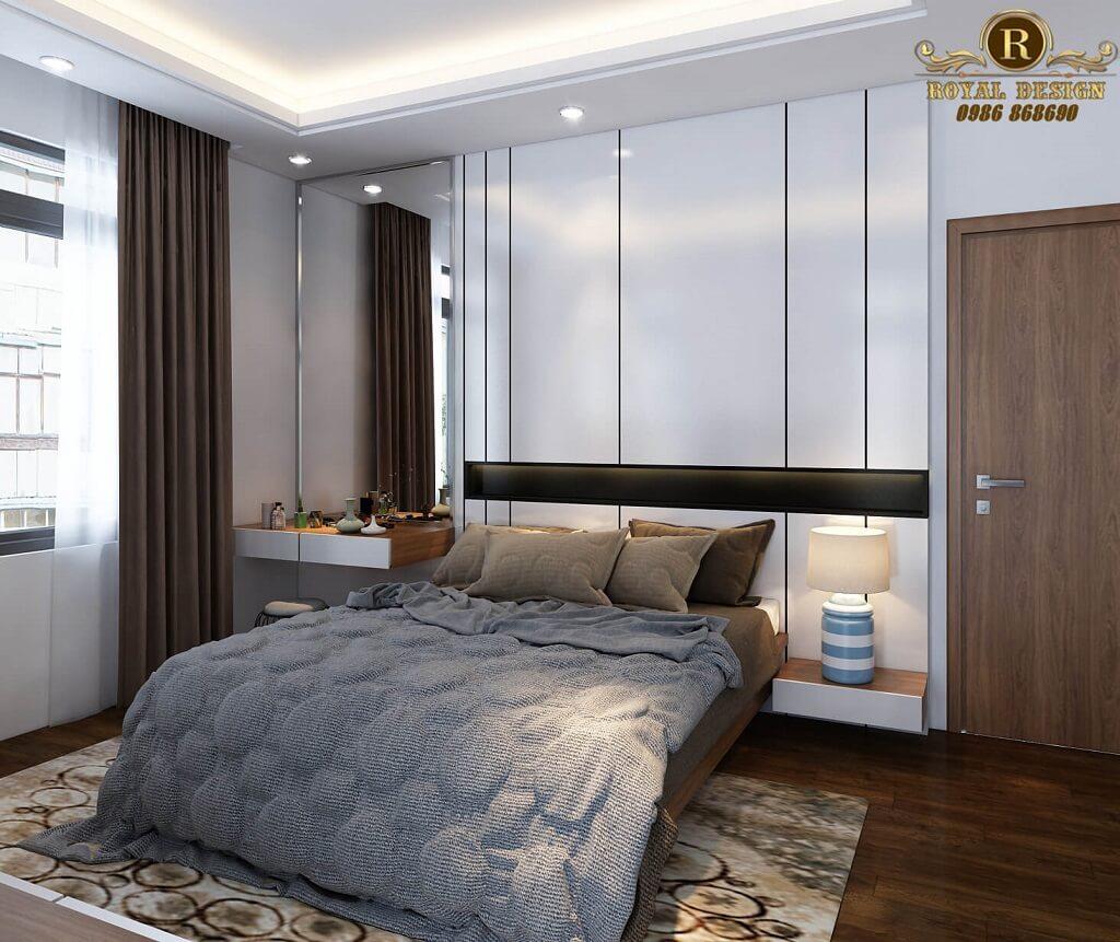 Giường ngủ master hiện đại