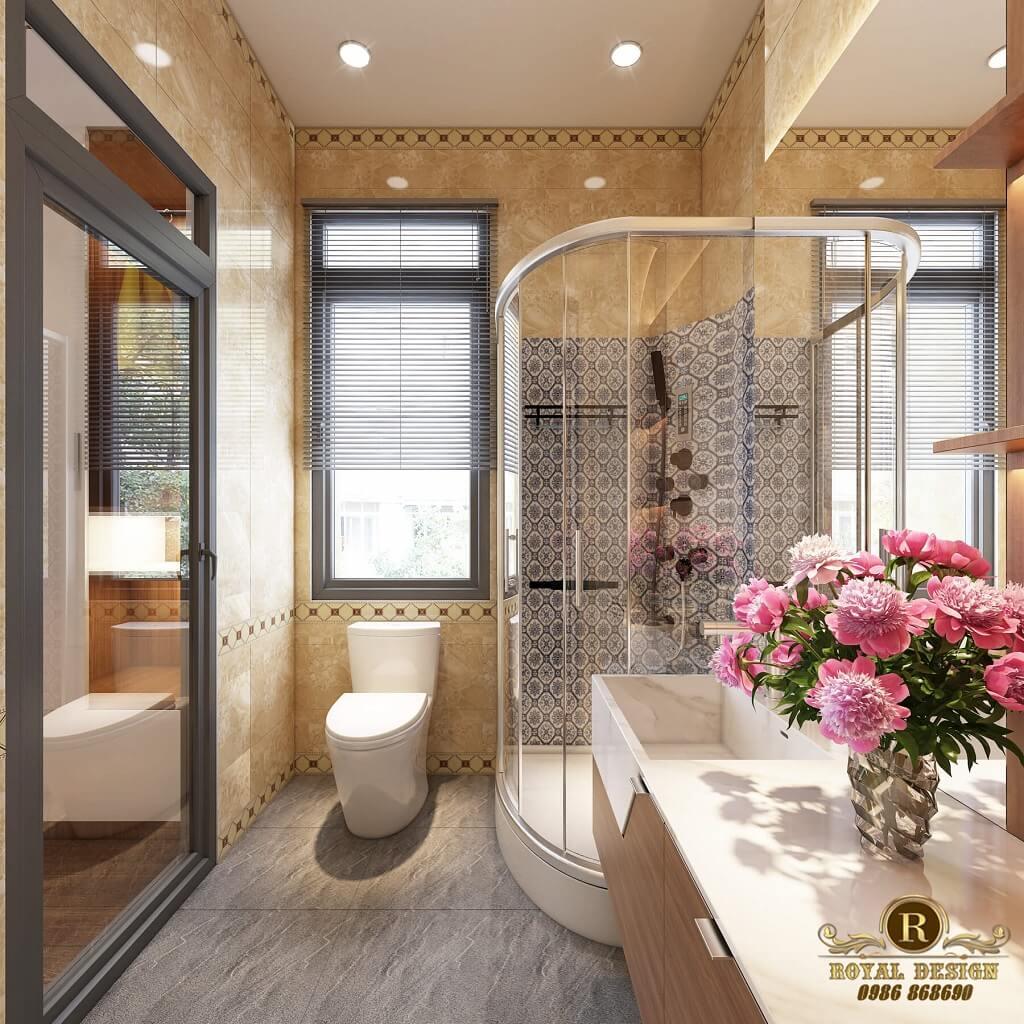 Phòng vệ sinh sang trọng