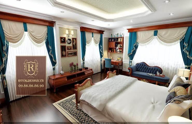 Hình ảnh thiết kế nội thất phòng ngủ con trai 03