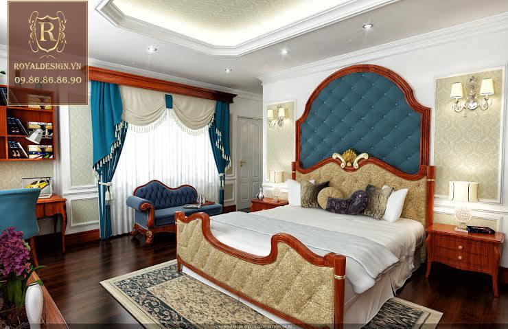 Hình ảnh thiết kế nội thất phòng ngủ con trai 02