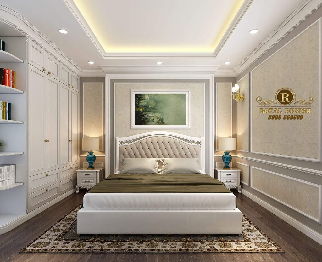 Phòng ngủ con trai tông sáng