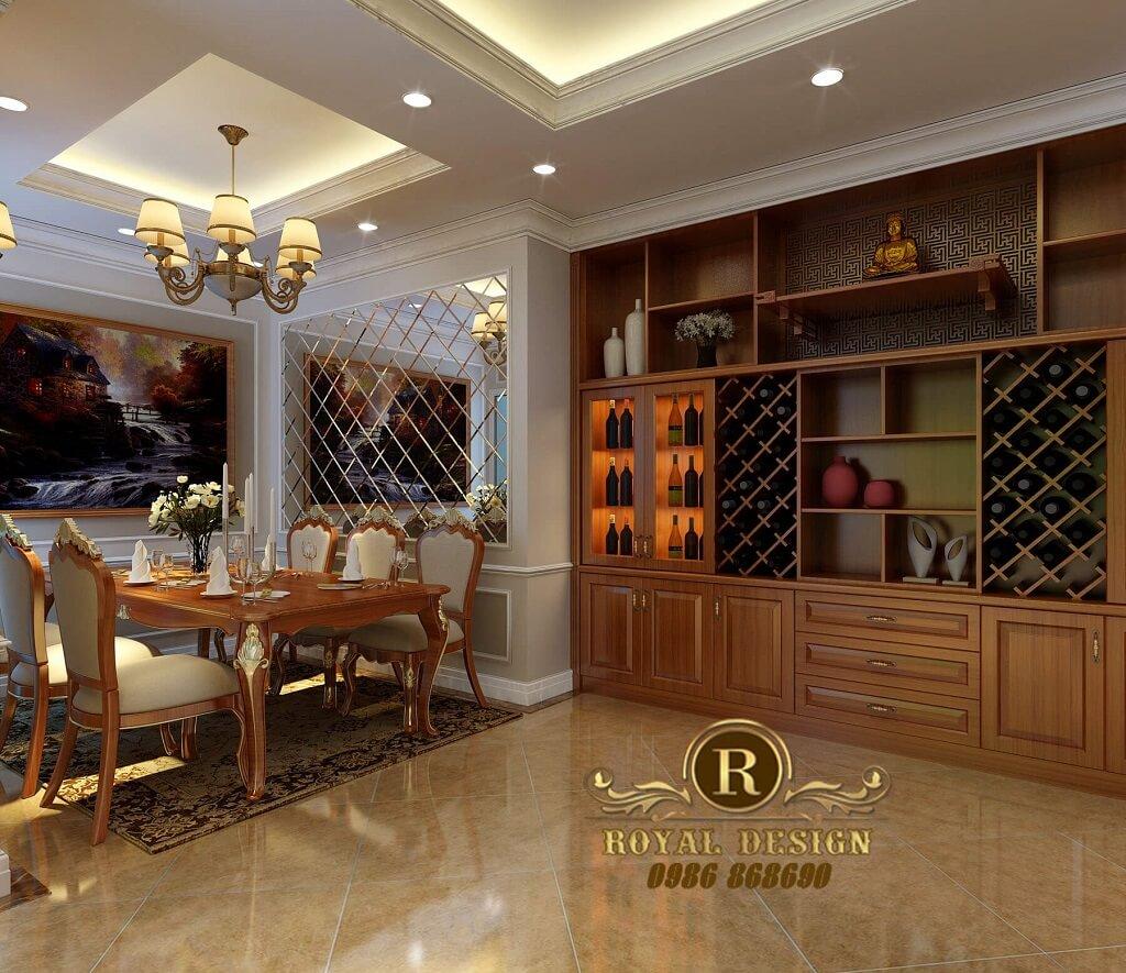 Tủ rượu cổ điển