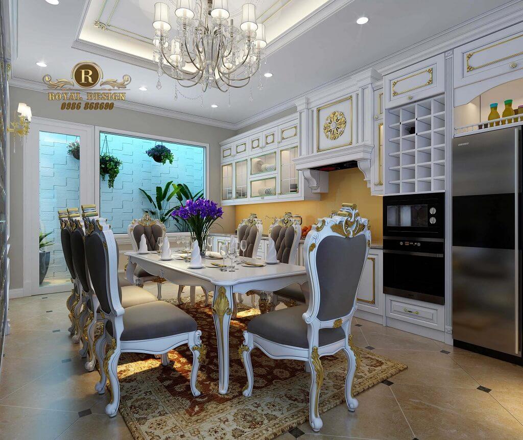 Thiết kế nội thất phòng bếp - Royaldesign