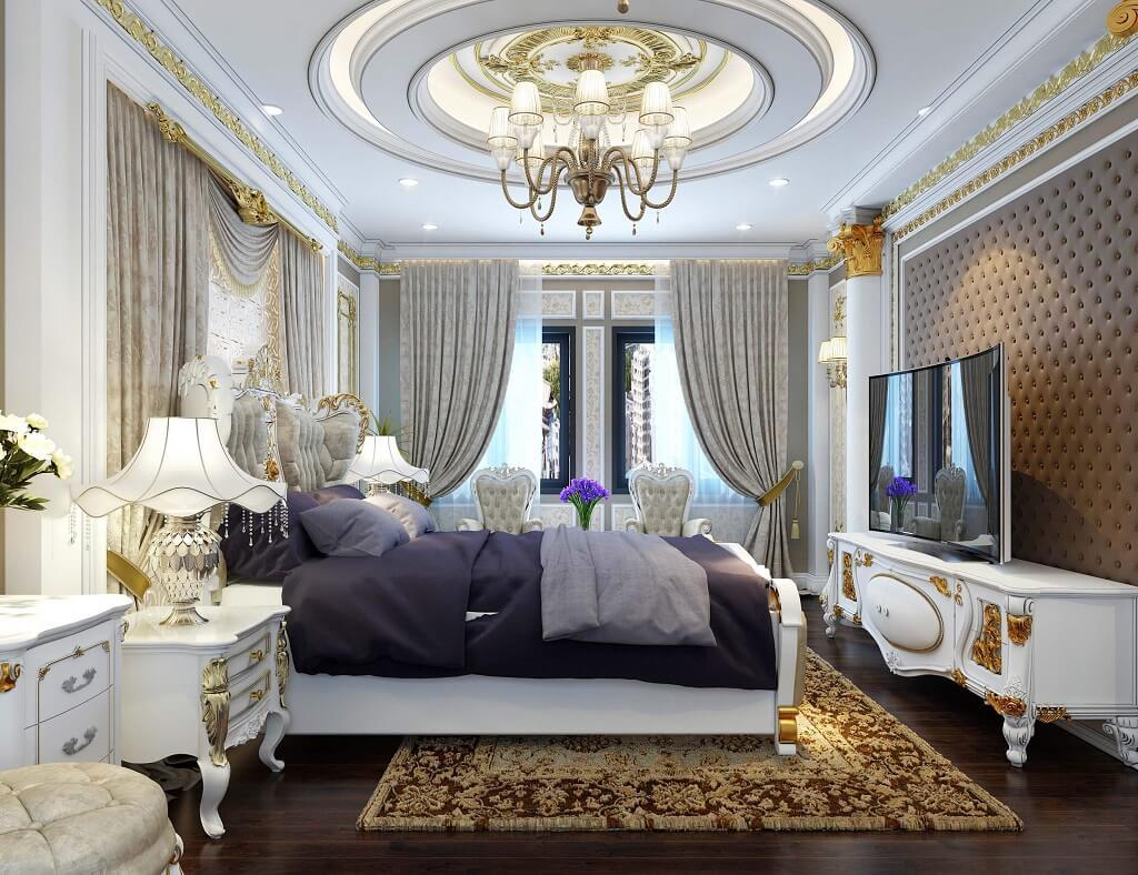 Thiết kế nội thất phòng ngủ Master - Royaldesign