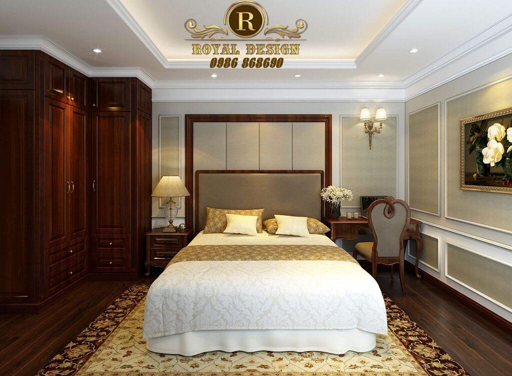Phòng ngủ ông bà đơn giản