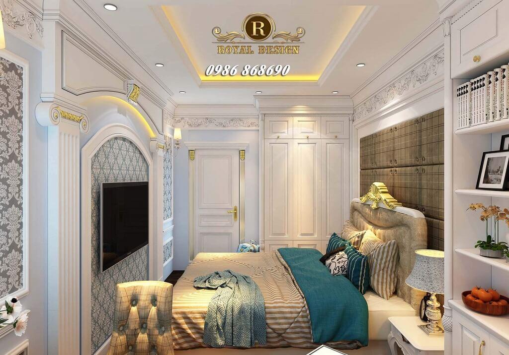 Nội thất phòng ngủ con cổ điển