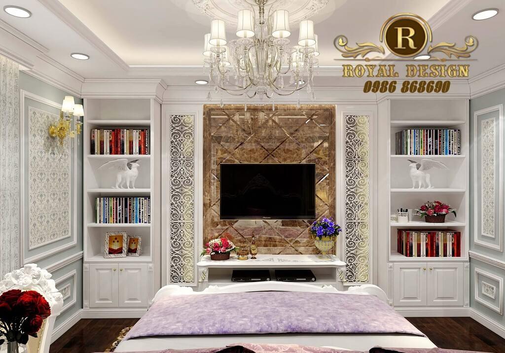 Phòng ngủ cổ điển đẹp