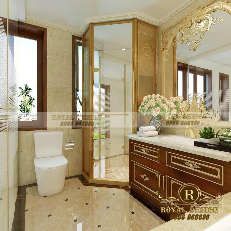 nhà vệ sinh phong cách cổ điển