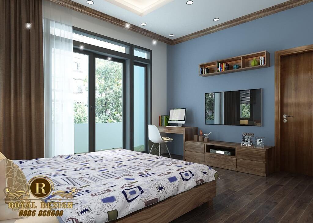 Phòng ngủ phía mặt tiền tầng 3-1