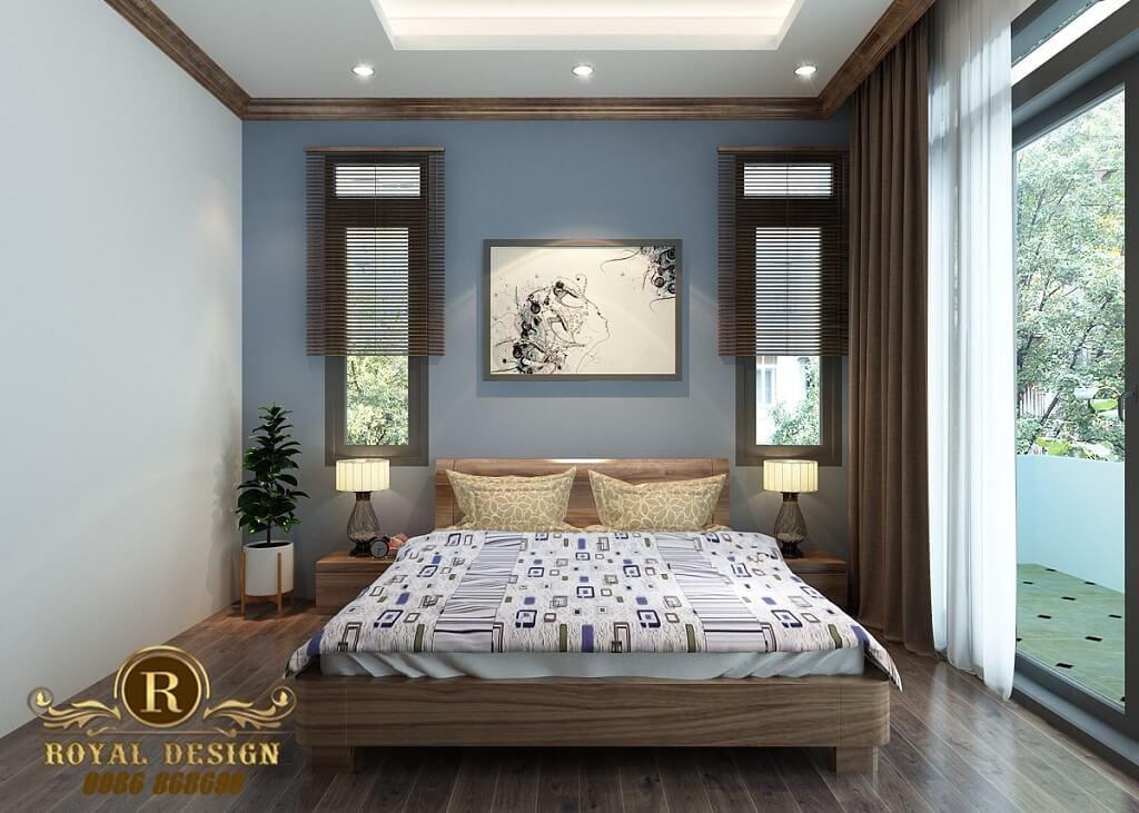 Phòng ngủ phía mặt tiền tầng 3